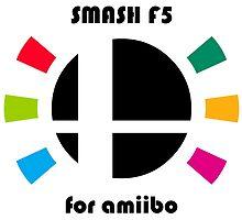 Smash F5 for amiibo by davidjonesart