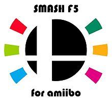 Smash F5 for amiibo Photographic Print