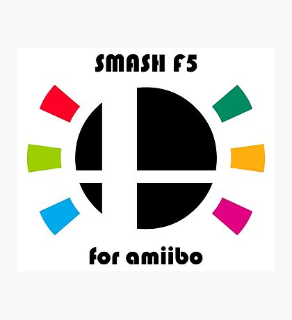 Smash F5 for amiibo Photographic Print