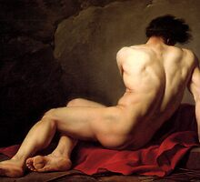 Patroclus by Jacques-Louis David by troycap