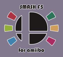 Smash F5 for amiibo Kids Tee