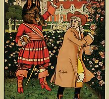 Beauty and the Beast by Walter Crane 1875 3 - In the Garden by wetdryvac