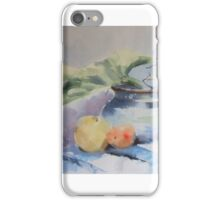 STILL LIFE WITH FRUIT iPhone Case/Skin