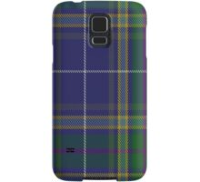 00488 Highland Blue Tartan Samsung Galaxy Case/Skin