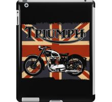 Triumph Motorcycle iPad Case/Skin