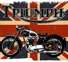 Triumph Motorcycle by kayve