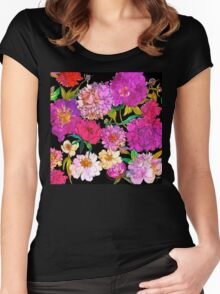 Petal Power Women's Fitted Scoop T-Shirt