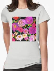 Petal Power Womens Fitted T-Shirt