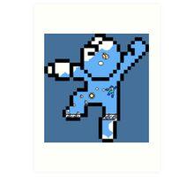 Megaman - Bird bomber Art Print