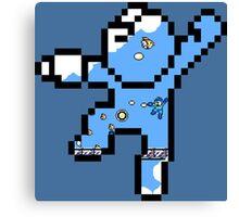 Megaman - Bird bomber Canvas Print