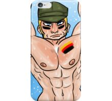 Shirtless Germany Phone Case iPhone Case/Skin