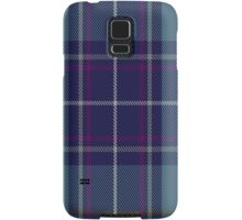 00487 Heirloom Blue Alba Tartan  Samsung Galaxy Case/Skin