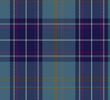 00487 Heirloom Blue Alba Tartan  by Detnecs2013