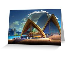 A Different View - The Sydney Opera House Greeting Card