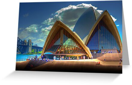 A Different View - The Sydney Opera House by Mark Richards