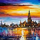 Old Port Tower — Buy Now Link - www.etsy.com/listing/230001984 by Leonid  Afremov