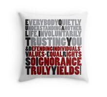 E&D Acronym Throw Pillow