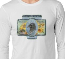 vincent van crow art supplies Long Sleeve T-Shirt