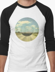 Open Road Collage Men's Baseball ¾ T-Shirt
