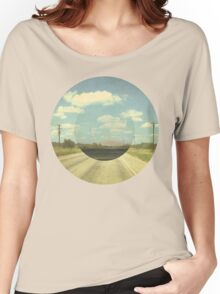 Open Road Collage Women's Relaxed Fit T-Shirt