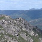 Mid Tasmanian Mountain by KazM