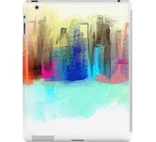 Colorful City Impressionism iPad Case/Skin