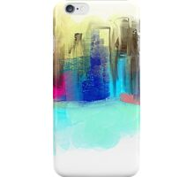 Colorful City Impressionism iPhone Case/Skin