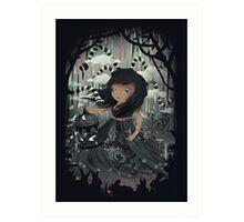 DREAMY NIGTHMARES Art Print