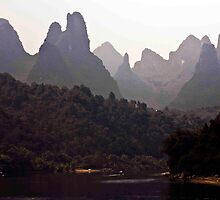 Karst Peaks At The Bend by phil decocco
