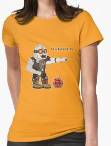 Lulz Of War: Goggles Womens Fitted T-Shirt