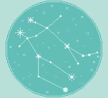 8bit Constellations:  Gemini by sp8cebit