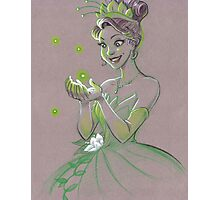 Toned Paper Tiana Photographic Print