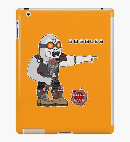 Lulz Of War: Goggles iPad Case/Skin