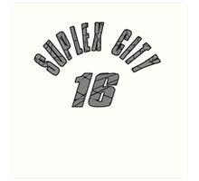 SUPLEX CITY 16 Art Print