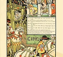 Cinderella Picture Book containing Cinderella, Puss in Boots, and Valentine and Orson Illustrated by Walter Crane 1911 29 - Sisters Kneel and Beg Forgiveness of their Pride by wetdryvac