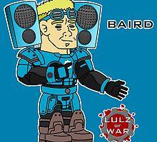 Lulz Of War: Victory Music Baird by davidjonesart