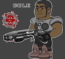Lulz Of War: Cole by davidjonesart