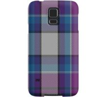 00486 Hebridean Arisaid Blue Dance Tartan  Samsung Galaxy Case/Skin