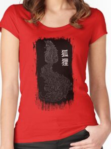 The Fox Women's Fitted Scoop T-Shirt