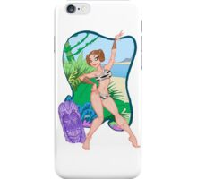 Adventures of the Princess on Tiki-6 iPhone Case/Skin