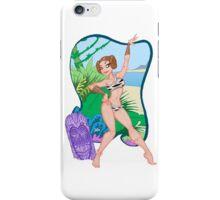 Adventures of the Princess on Tiki-6 iPhone Case/Skin