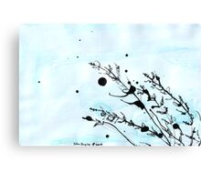 Grass Study Canvas Print
