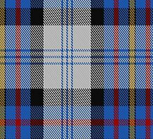 00483 Gillies Dress Blue Clan Tartan by Detnecs2013