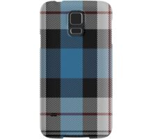 00482 Ferguson Dress Blue Dance Tartan  Samsung Galaxy Case/Skin