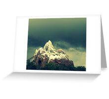 looming over everest Greeting Card