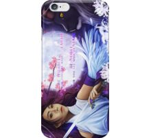 Warrior Amongst Flowers and Stars iPhone Case/Skin