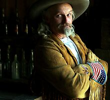 Buffalo Bill Reenactor by Fojo