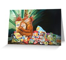 Palm Oil and Pollution Greeting Card