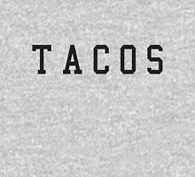 Tacos. Womens Fitted T-Shirt