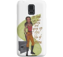 Zoe Washburne, Outlaw Extraordinaire Samsung Galaxy Case/Skin